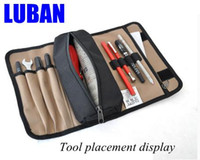 Wholesale Small tool pouch wear thick waterproof canvas versatile tool bag electrician drum kit