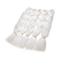 african hair braiding styles - Kanekalon Jumbo Braid Synthetic Expression Braiding Hair White Inches G Cheap African Crochet Braids Style