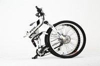 Wholesale 26 inch V9AH Lithium ion Speed electric folding bicycle electric bike mini city ebike for man and womne