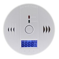 Wholesale Home Safety Intelligent EN50291 CO Carbon Monoxide Poisoning Gas LCD Sensor Alarm Warning Detector Tester