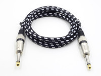 Wholesale New Arrival High Quality M Woven Cable Cord Lead For Guitar Braided Instrument Cable