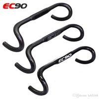 2017 EC90 3k fibra de carbono carretera bicicleta manillar bicicleta de ciclismo bicicleta piezas carretera bicicleta manillar t mango bend barra 400 420 440mm