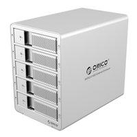 Wholesale ORICO U3 SV bay USB3 ESATA HDD Enclosure HDD Docking Station Case for Laptop PC silver