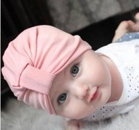baby industry - 2016 autumn and winter hot style in Europe and the baby products knot wind wave sago industry Indian children hat baby hats