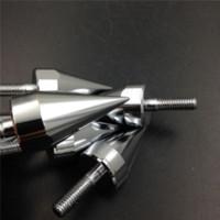 automobile bolts - Motorcycle mm Universal Windshield Windscreen Bolts Screw Fastener Kits Motorbike Automobiles Fairing Windshield Mounting Screw