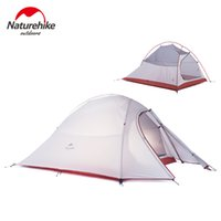 best tent fabric - Naturehike New Person Big Tent D Silicone Fabric Best Beach Tent House Double layer Camping Tent Super Light weight