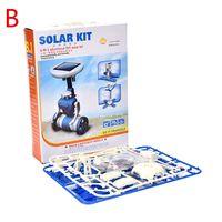 Wholesale Hot sale New Children s DIY solar toys in1 educational solar power Kits Novelty solar robots For Child birthday Gift