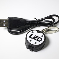 bags dog tags - New High quality USB rechargeable pet accessories led light dog tag bag light safety in the dark