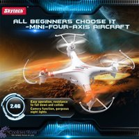 Wholesale DHL Original Skytech M62R G CH Axis With Camera professional rc helicopter Remote Control Quadcopter Toys
