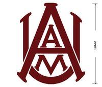 alabama door - Alabama A M Bulldogs car sticker Car reflective stickers PVC Waterproof sticker