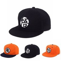 Wholesale Dragon Ball Z Son Goku Roshi Snapback Hat Anime Baseball Adjustable Canvas Cap Cool