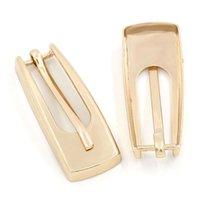 belt buckles parts - 30Pcs Rose Gold Plated Alloy Fashion Buckles Fit For Shoes Belt Cloth Bag Parts Diy Accessories x1 cm quot x quot