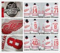 Wholesale 2017 Centennial Classic th Anniversary Gordie Howe Steve Yzerman Henrik Zetterberg Detroit Hockey Sweatshirts
