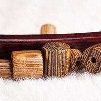 Wholesale 50pcs Barrel shape wenge Jewelry Beads Necklace Bracelet Earrings Making DIY Accessories Wooden bead