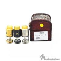 assorted material - Goon LP RDTA ml Capacity mm Diameter Stainless Steel Material Assorted Colors E Cig RDTA Tank