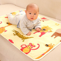 Wholesale 90 cm Baby Cartoon Reusable Matelas Infant Cover Bedding Nappy Burp Mattress Waterproof Sheet Diapering Urine Changing Pads