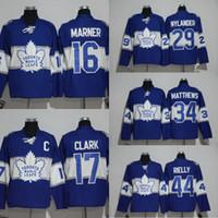 Wholesale 34 Auston Matthews Centennial Classic Jersey Toronto Maple Leafs Anniversary Patch Men s Mitchell Marner Morgan Rielly Jersey