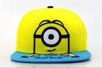 Los cabritos del sombrero del Snapback del subordinado embroma los sombreros planos de la historieta