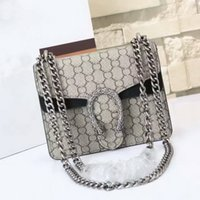 purses brand name - New style cm mini GG Brand Ladies Bag Leather Womens Handbag Luxury Brand Name High Quality Real Leather Shoulder Bag leather purse black