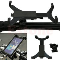 Wholesale Portable Motorcycle Bicycle Bike Car Handlebar Mount Holder For iPad Tablet PC