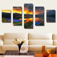 abtract painting - Cloud Wall Painting Printed on Canvas for Living Room Modern Painting Home Decoration Abtract Oil Pictures No Framed