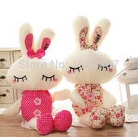 Wholesale Super Cute Bunny - Wholesale-Free shipping 43cm super cute cartoon rabbit tuzki doll,best gift stuffed easter bunny plush toy birthday  valentine day gift