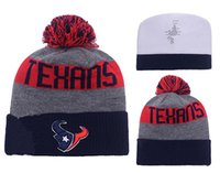 Wholesale Texans Cotton Houston Beanies Cap Gorros Embroidery Knitted Hat For adult Casual Warm Knit men women Cap Wool Hats