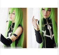 apples wigs - gt gt gt Hot new Beautiful Fashion new Cosplay Code Geass Long Apple Green Mix Straight Wig cm