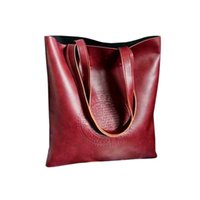 bag sac design - Fashion Large Women Shoulder Bags Leather Casual Beach Bag Girls Famous Brand Design Tote Bag Female Bag Handbag Big sac a main
