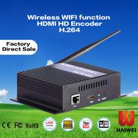 Precio de Hd militar-H3710B WIFI + HDMI + CVBS uav ejército de comunicación de aviones completo HD iptv codificador de video en línea de aprendizaje, codificador de teleconsulta militar