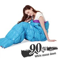 Wholesale Travel down sleeping bag outdoor adult spring and autumn winter warm lunch break double light indoor four seasons sleeping bag