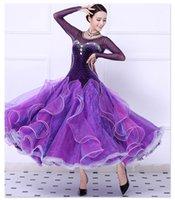Robes de bal de danse de salle de bal de style nouveau de tango de flamenco