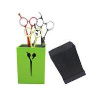 Wholesale New Hair Scissors Holder Fashion Salon Professional Scissor Set Storage Box High Quality colors
