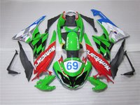 Wholesale 4 Free Gifts New Hot ABS Fairings Kits Fit For kawasaki Ninja ZX6R R Bodywork set cool style