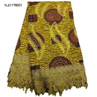 bestway shipping - Bestway yards African embroidery Guipure Wax Fabrics With Stones for African Sewing Fabric L611TN001