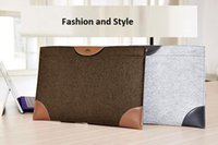 Wholesale macbook air pro felt case laptop sleeve carrying case for men and women