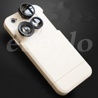 apple fish - iphone s iphone s plus Case With Lens Case Wide angle Lens Macro Lens Fish Eyes Lens And Times The Lens