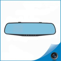 Wholesale 1080 hd camera Before and after the vehicle traveling data recorder rearview mirror car DVR camera lens