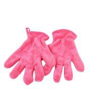 Wholesale Microfiber MakeUp Removal Facial Cloth Gloves Towel Beauty Skin face Washcloth