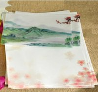 Wholesale Vegetable parchment envelope red XingQiao branches mm western style envelopes