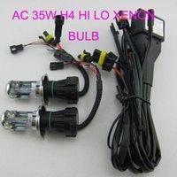 achat en gros de hid automobile-Automotive AC 12V 35W H4 Xenon HID Kit Haute Low Dual Beam Bulbes de remplacement pour voiture Pack of 2