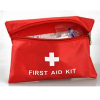 Wholesale Waterproof Travel First Aid Kit Mini Outdoor Travel Car First Aid kit Home Small Medical Box Emergency Survival kit Household
