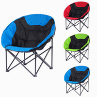 Wholesale Moon Leisure Chair Sofa Style Fishing Chair Lightweight Portable Stable Folding Chair for Camping Hiking with Carry Bag