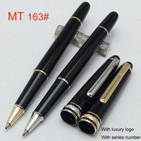 Ballpoint Pens best clip art - MB Meisterstuck AAA High Quality Best Design Pure Black Resin Silver Clip Roller Ball Pen