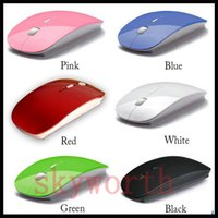 Wholesale 2 GHz Wireless Bluetooth Mouse Colorful Optical Engine M Receiving Distance With Mini Receiver For Laptop And Notebook With Retail Box