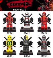 Wholesale 2016 New Super Heroes Deadpool Series Minifigures Sets set Children Gift toys Building Bricks Blocks