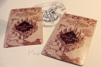 Wholesale Harry Potter handmade postcard the Marauder s Map piece post card commemorating souvenir