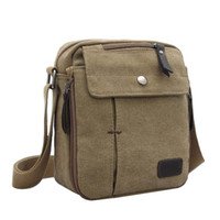 Wholesale Small Fashion Multifunction Vintage Canvas Waist Bag Fanny Pack Running Pack Cycling Leisure Bag with Detachable Belt by DHL Shipping