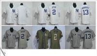 alex rodriguez jerseys - Derek Jeter Alex Rodriguez White Women s Baseball Stitched Jerseys Salute to Service New York NY Yankees throwback embroidery Sz S XXL