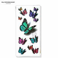 amazing tattoo - Amazing Butterfly d Temporary Tattoo Body Art Flash Tattoo Stickers cm Waterproof Car Styling Tatoo Home Decor Wall Sticker